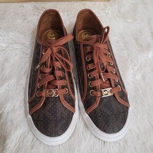 Michael Kors Boerum MK Logo Sneakers Size 7
